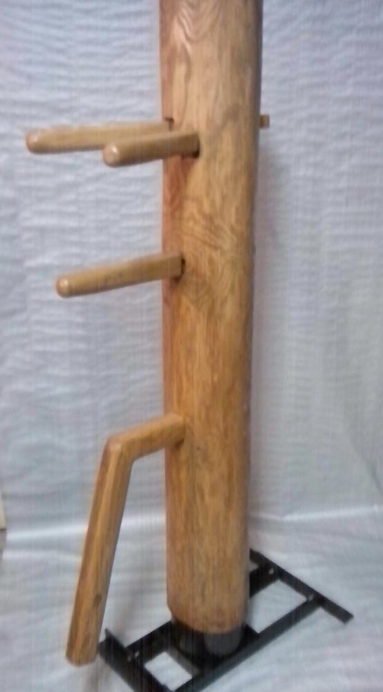 Как изготовить деревянный манекен Вин Чунь в домашних 55