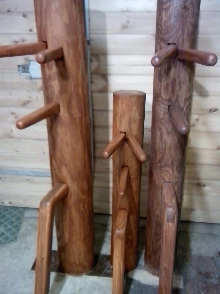 wing chun деревянный манекен